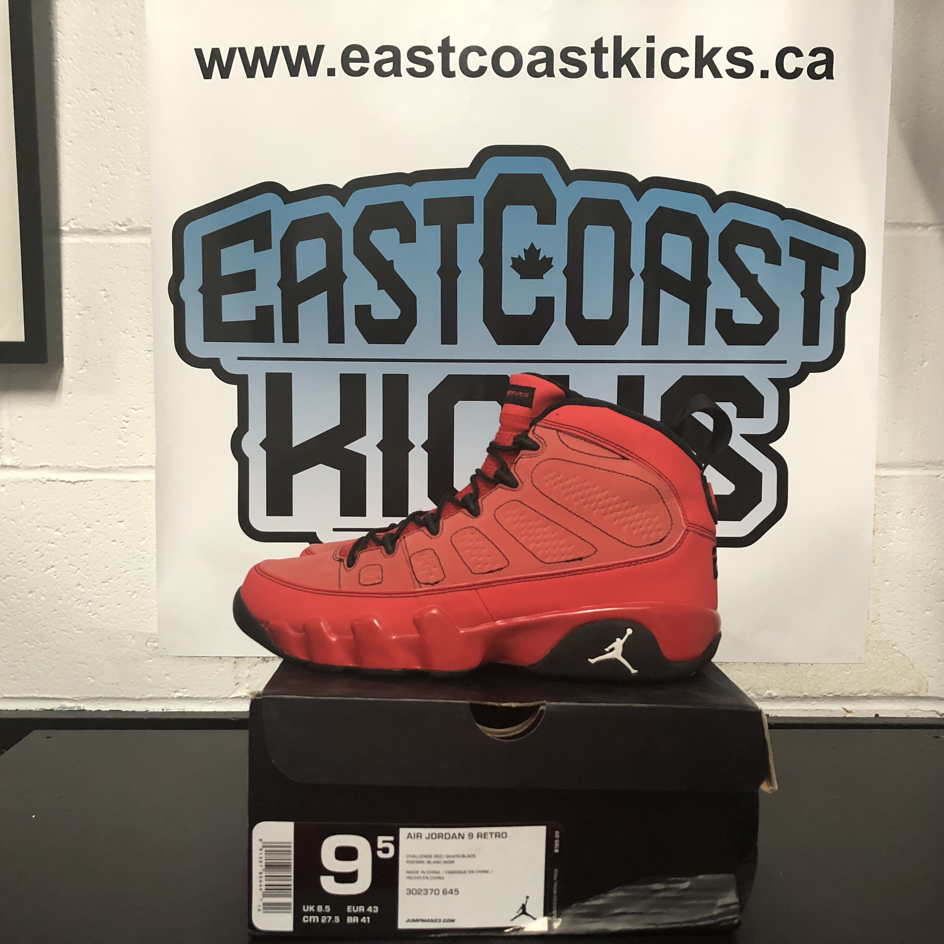 low priced 3c3fa dc90e Preowned Jordan 9 Motorboat Jones Size 9.5