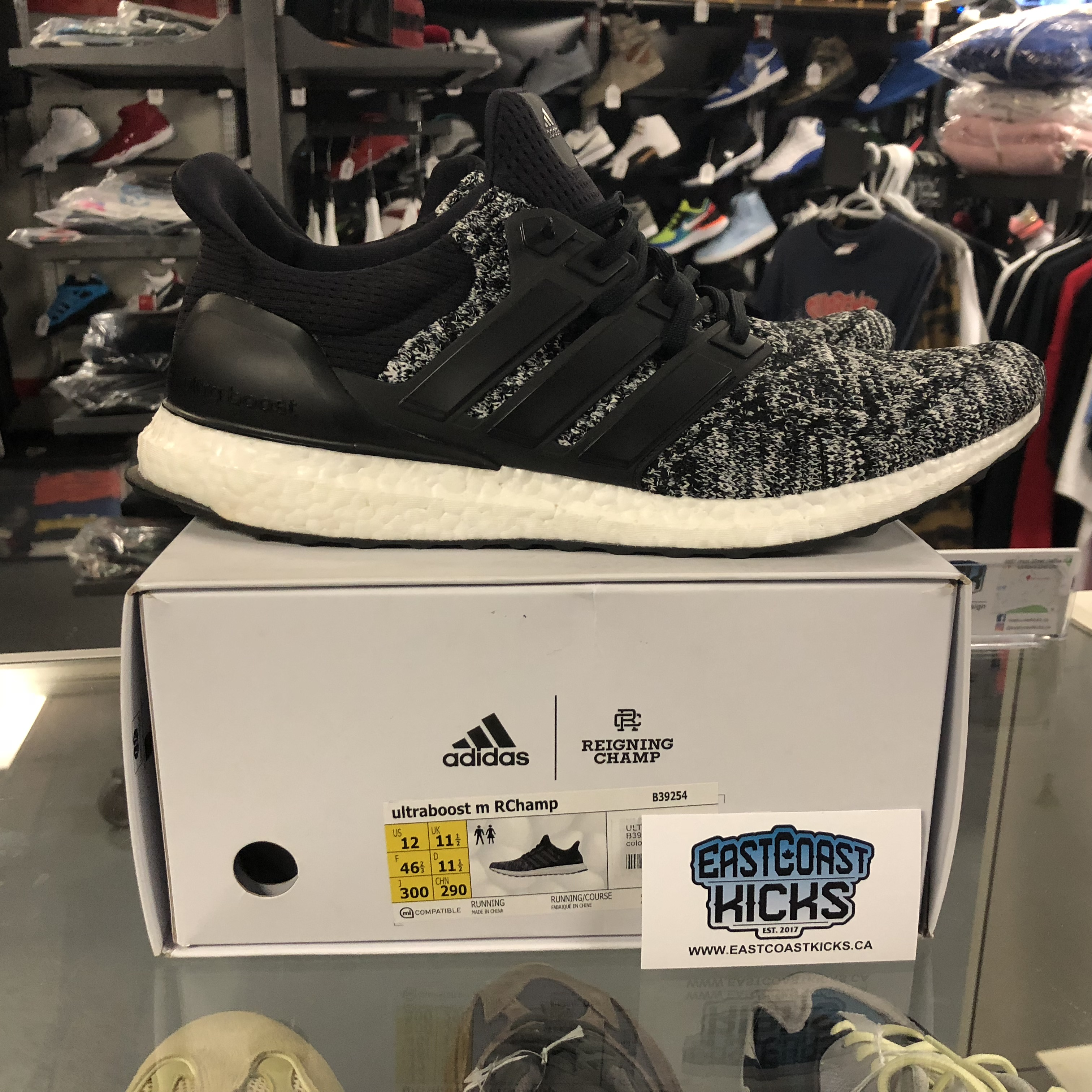 caf695e04b79c Preowned Adidas Ultra Boost Reigning Champ 1.0 RCUB Size 12 ...