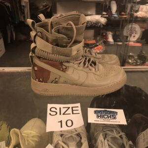 Preowned Nike SF AF1 Desert Camo Size 10