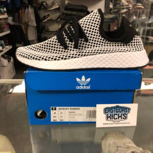 Adidas Deerupt Runner Black/White Size 8