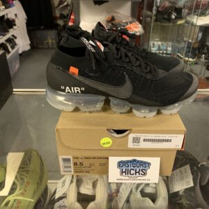 Preowned Off White Vapormax Size 8.5