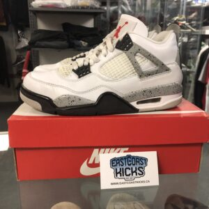 Preowned Jordan 4 Cement Size 7