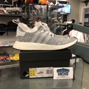 Preowned NMD_R2 Light Grey Size 11.5
