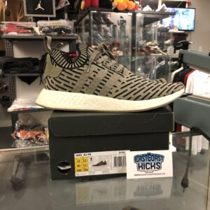 Preowned NMD_R2 Olive Size 12