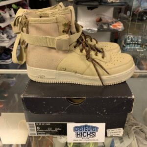 Preowned Women's SF Air Force 1 Tan Size 9 W