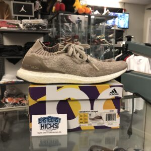 Preowned Ultraboost Uncaged Beige Size 12