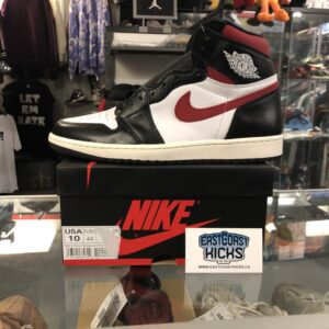 Jordan 1 Gym Red Black Size 10