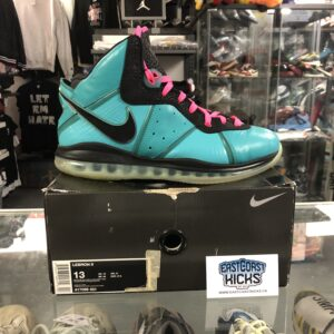 Preowned Lebron 8 South Beach Size 13