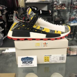 Human Race Solar NMD Black Yellow Size 12