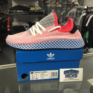 Adidas Deerupt Runner Red Blue Size 9