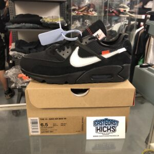 Off White Air Max 90 Black Size 6.5