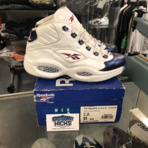 Preowned OG 1996 Reebok Question Blue Size 11