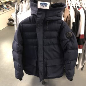 Preowned Canada Goose Jacket Navy Size M