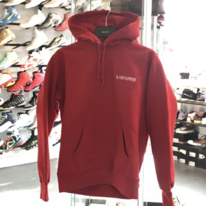 Supreme 1-800 Hoodie Red Size M