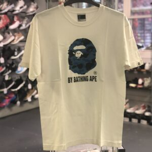 Preowned Bape Blue Face Tee Size L