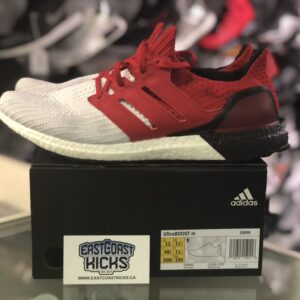 Preowned Adidas Ultra Boost Red/BlackWhite Size 12