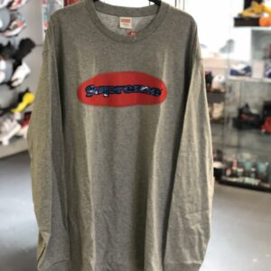 Supreme Long Sleeve Grey Size XL