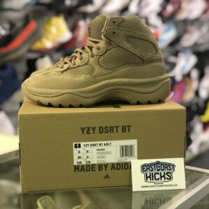 Preowned Adidas Yeezy Desert Boot Rock Size 6