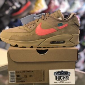 Off White Air Max 90 Desert Ore Size 10