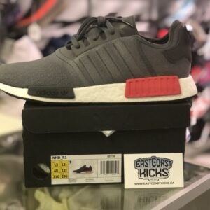 Adidas NMD R1 Grey/Black/Red Size 13