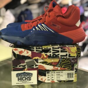 Preowned Adidas D.O.N Issue #1 Spider Man Size 11