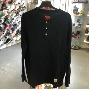 Preowned Supreme Dot Henley Size L