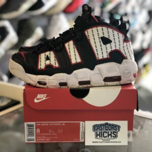 Preowned Nike Uptempo Pin Stripe Size 8