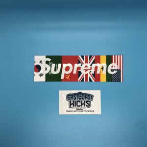 Supreme Flags Box Logo Sticker
