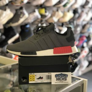 Adidas NMD R1 Grey Red White Size 13