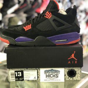 Preowned Jordan 4 Raptor Size 13