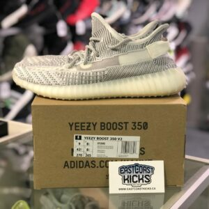 Preowned Yeezy 350 Static White Size 9