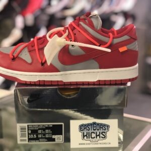 Off White Dunk Red Size 9