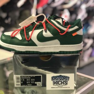 Off White Dunk Green Size 7.5