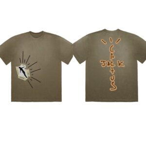 Travis Scott Highest In The Room Olive Tee Size S