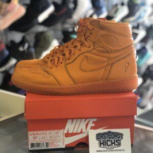 Preowned Jordan 1 Orange Gatorade Size 9.5