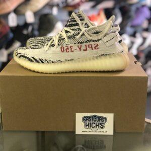 Preowned Yeezy 350 Zebra Size 7.5