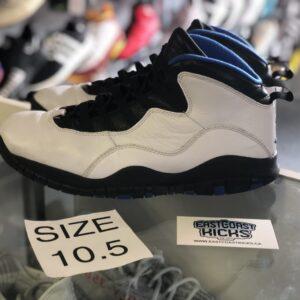 Preowned Jordan 10 Orlando Size 10.5