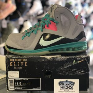 Preowned LeBron 9 South Beach Size 11.5