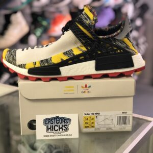 Human Race NMD Black / Yellow Size 12