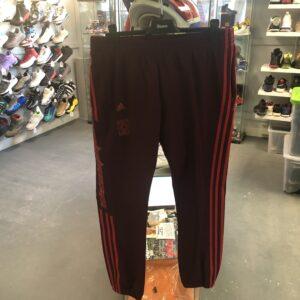 Preowned Adidas Calabasas Pants Burgundy Size L