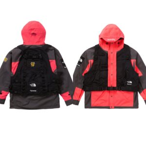 Supreme x The North Face Jacket and Vest Bright Red Size M
