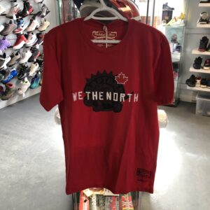 Mitchell & Ness Toronto Raptors We The North Tee Red Canada Flag