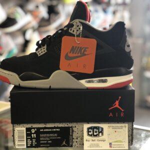 Jordan 4 Bred Size 9.5