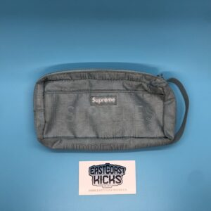 Preowned Supreme Organizer Pouch Ice Blue