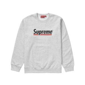 Supreme Underline Crewneck Size L
