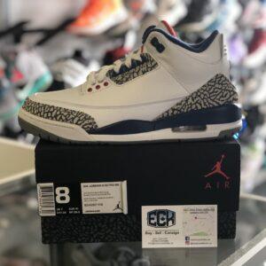 Jordan 3 True Blue Size 8