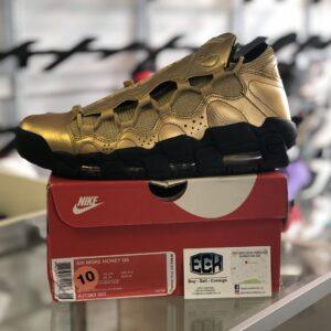 Nike Air More Money Gold Size 10