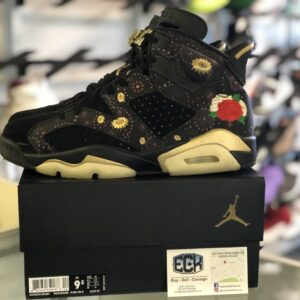 Preowned Jordan 6 Chinese New Year CNY Size 9.5