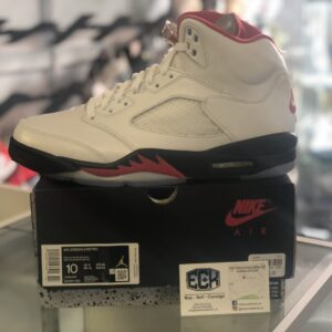 Jordan 5 Fire Red Size 10