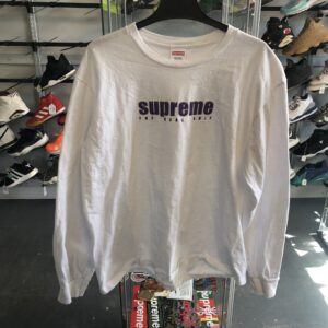 Preowned Supreme The Real Shit Long Sleeve Size L